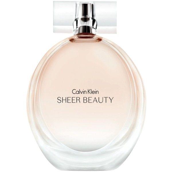 Calvin Klein Sheer Beauty Eau De Toilette 51 Liked On Polyvore Calvin Klein Sheer Beauty Beauty Perfume Perfume Design