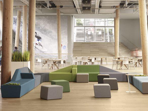 Mendi siège accueil sokoa meuble de bureaux mobilier en
