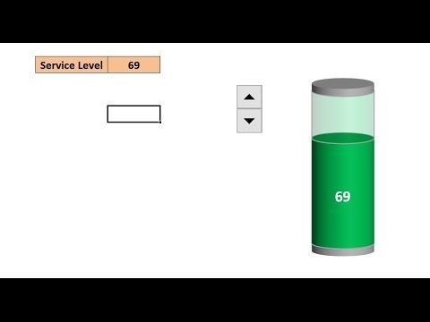 How to create a battery chart in excel - YouTube PK An Excel