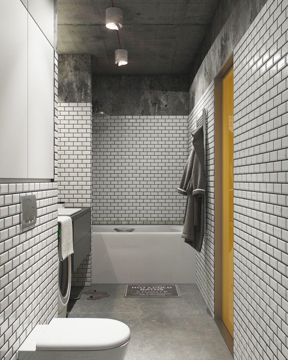 Industrial Masculine Bathroom