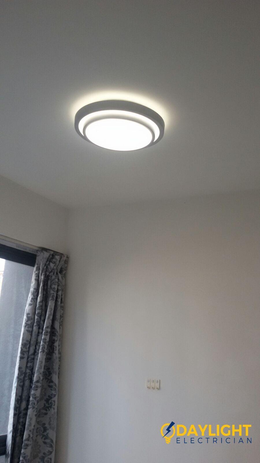Shift Lighting Point Install 3 Colour Change Led Ceiling Light
