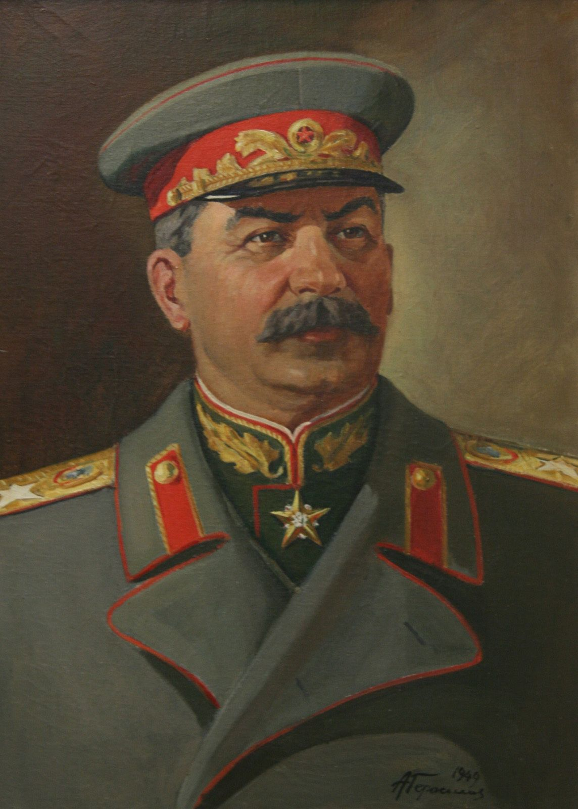 I think it might be Stalin?