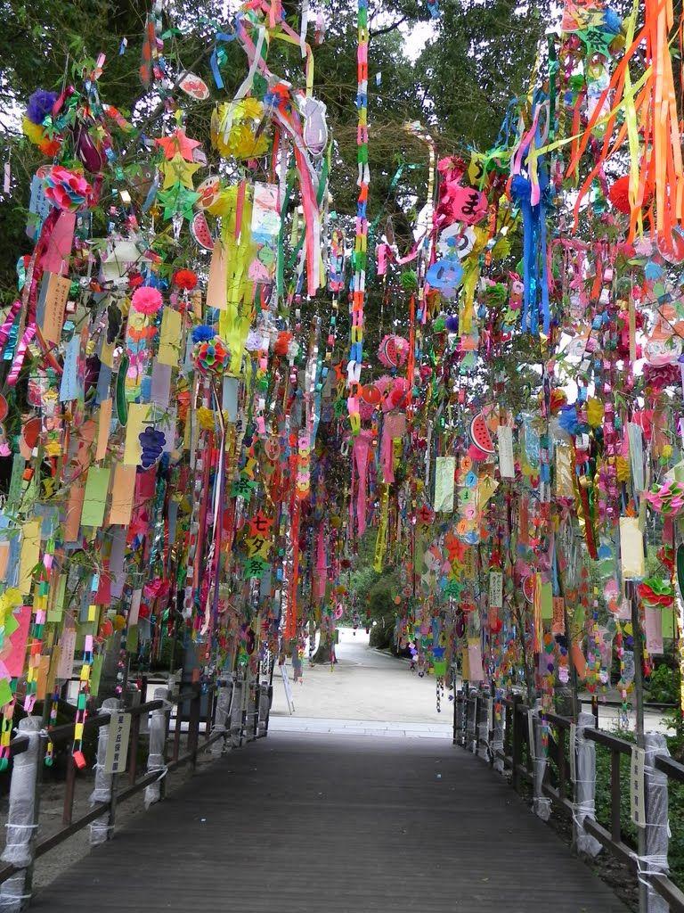 """Tanabata"" Star Festival decorations Festival"