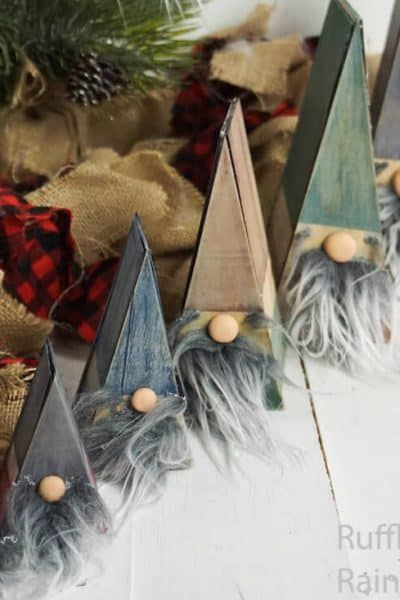 These Wooden Nesting Doll Gnomes are So CUTE and easy!