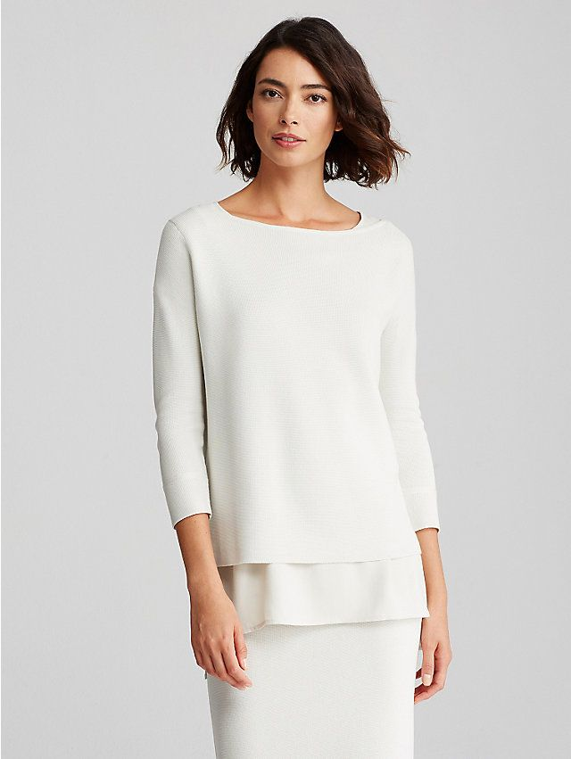 think this is perfect for Paris! EILEEN FISHER: New Arrivals ...