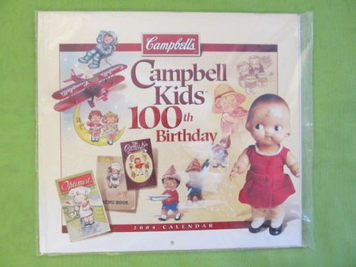 Campbell S Soup Kids Collectibles 100th Birthday Anniversary 2004