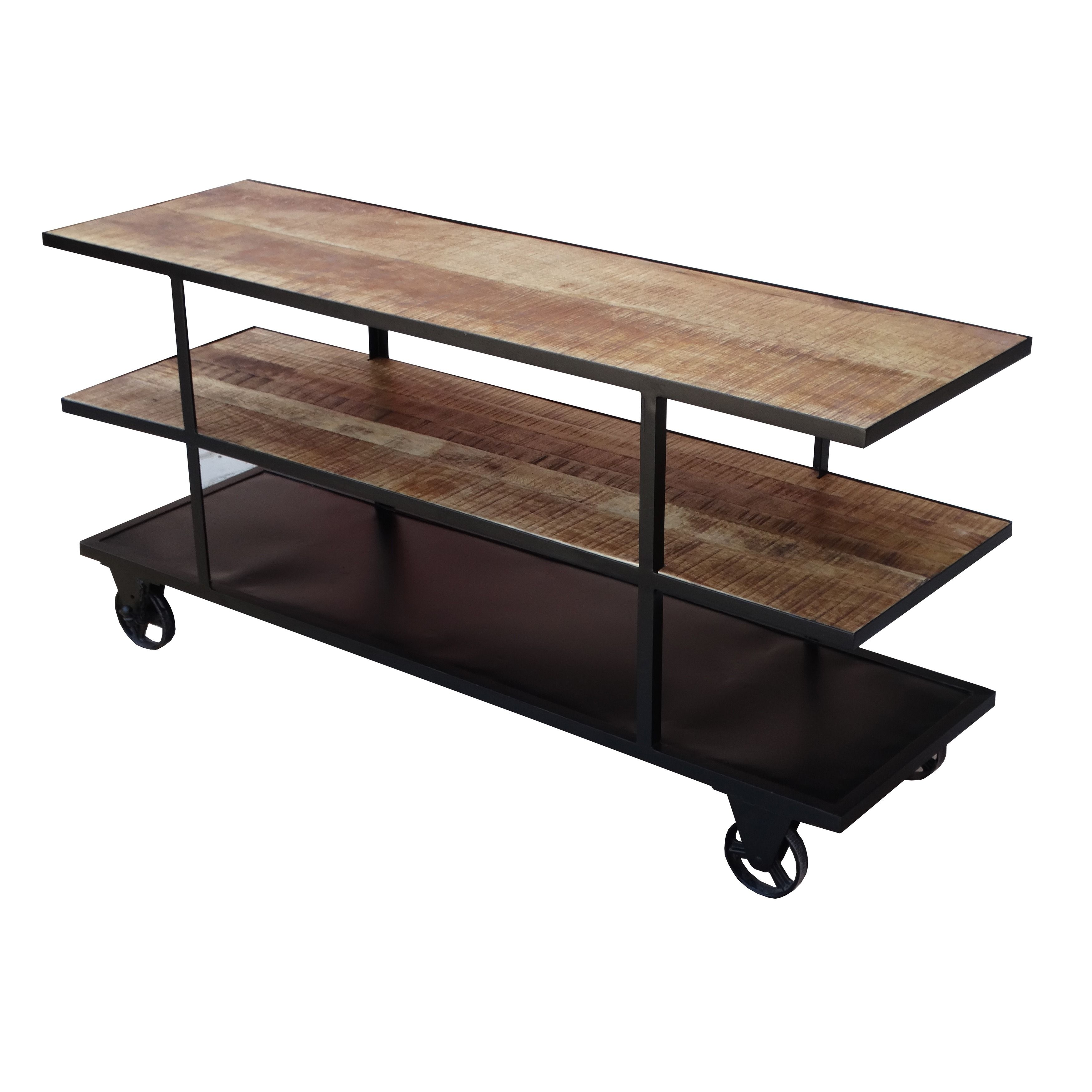 Sofa Cloth Online Shopping India Timbergirl Reclaimed Wood Media Console With Wheels Barn