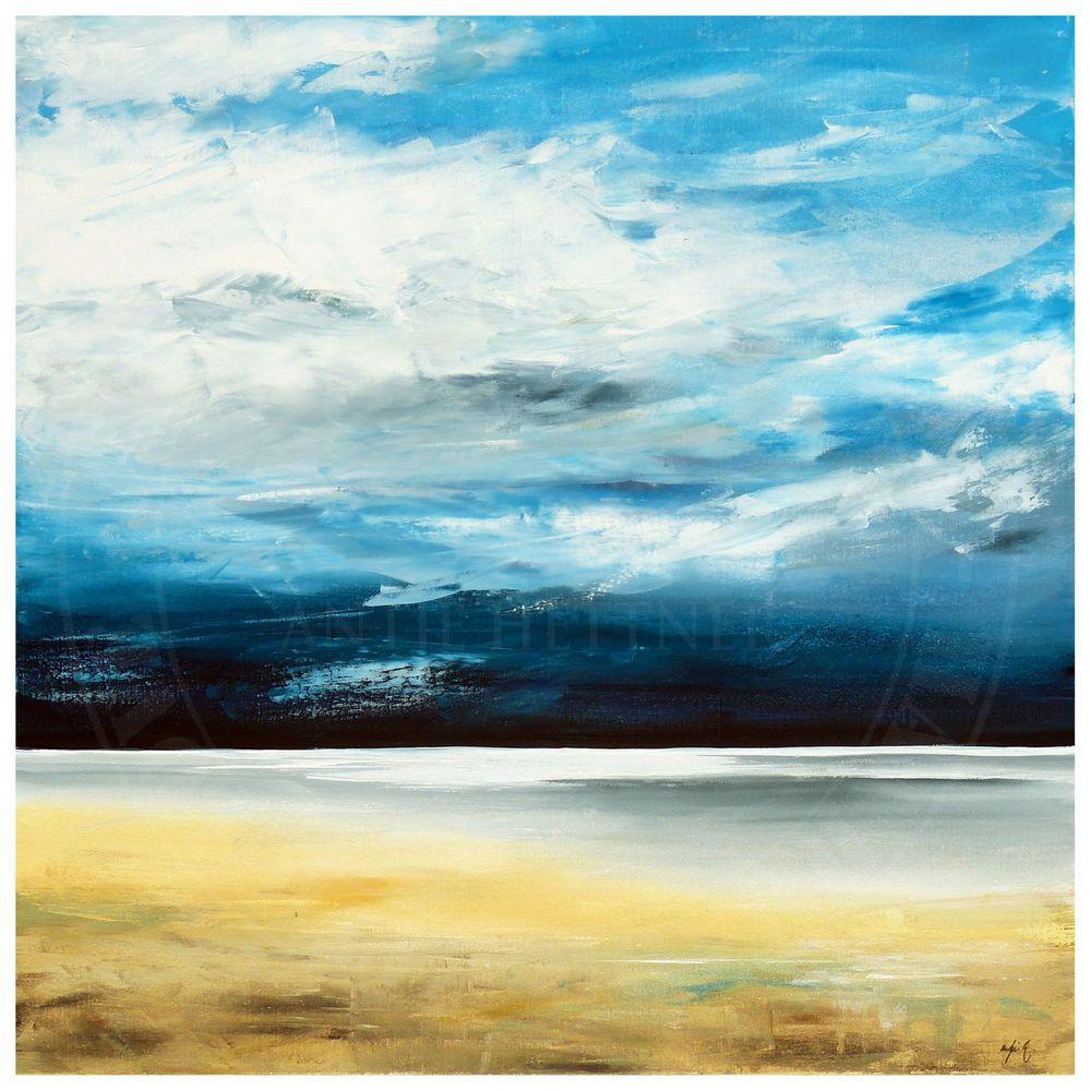 antje hettner bild original kunst gem lde leinwand malerei xl abstrakt meer neu ocean sea. Black Bedroom Furniture Sets. Home Design Ideas