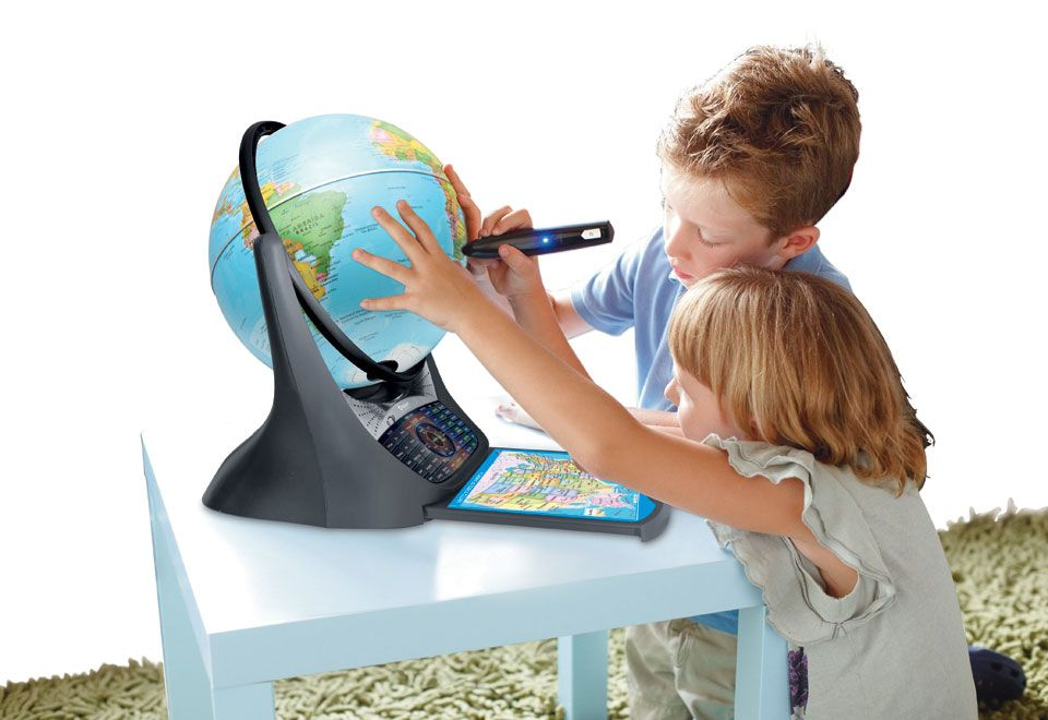 Interactive Learning Globe Interactive learning, Kids