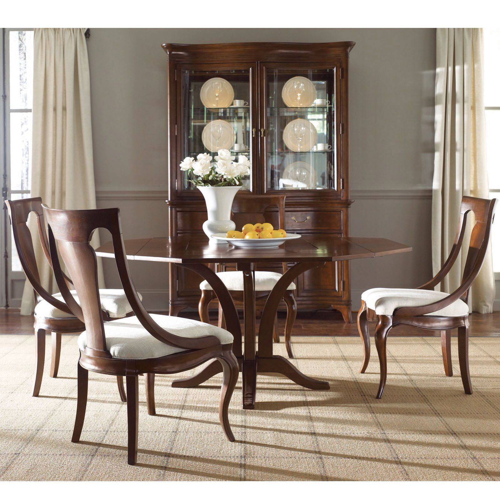 Have To Have Itamerican Drew Cherry Grove New Generation Square Impressive Traditional Dining Room Sets Cherry Inspiration Design