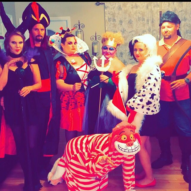 Disney Villains Group Costume Halloween Done Right Ursula