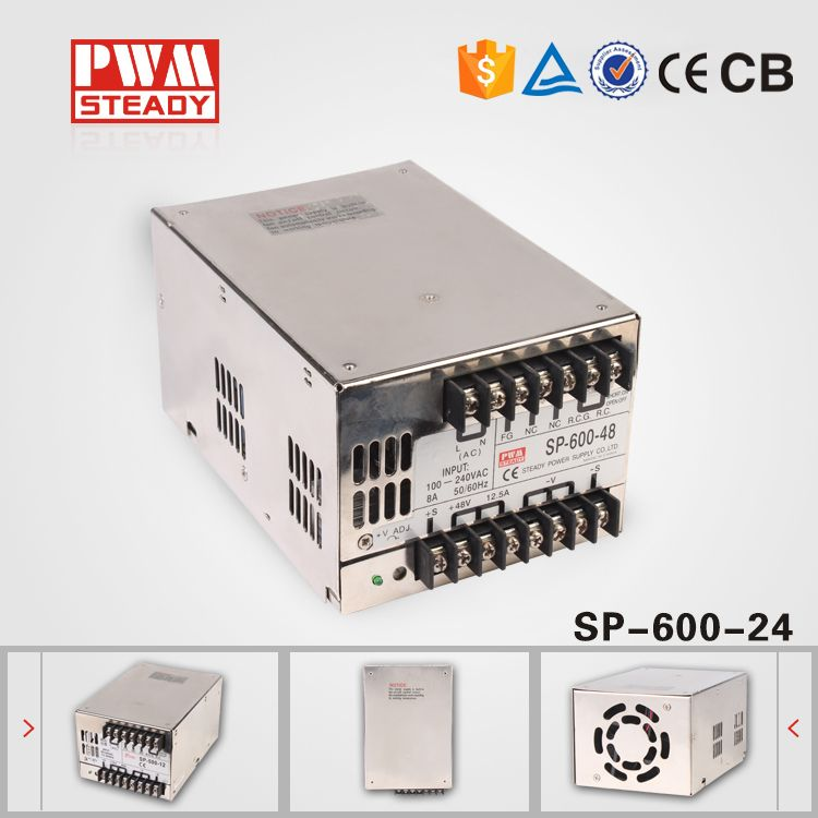 SP-600-24)600w smps SP series multi terminals 24v25a pfc switch mode ...