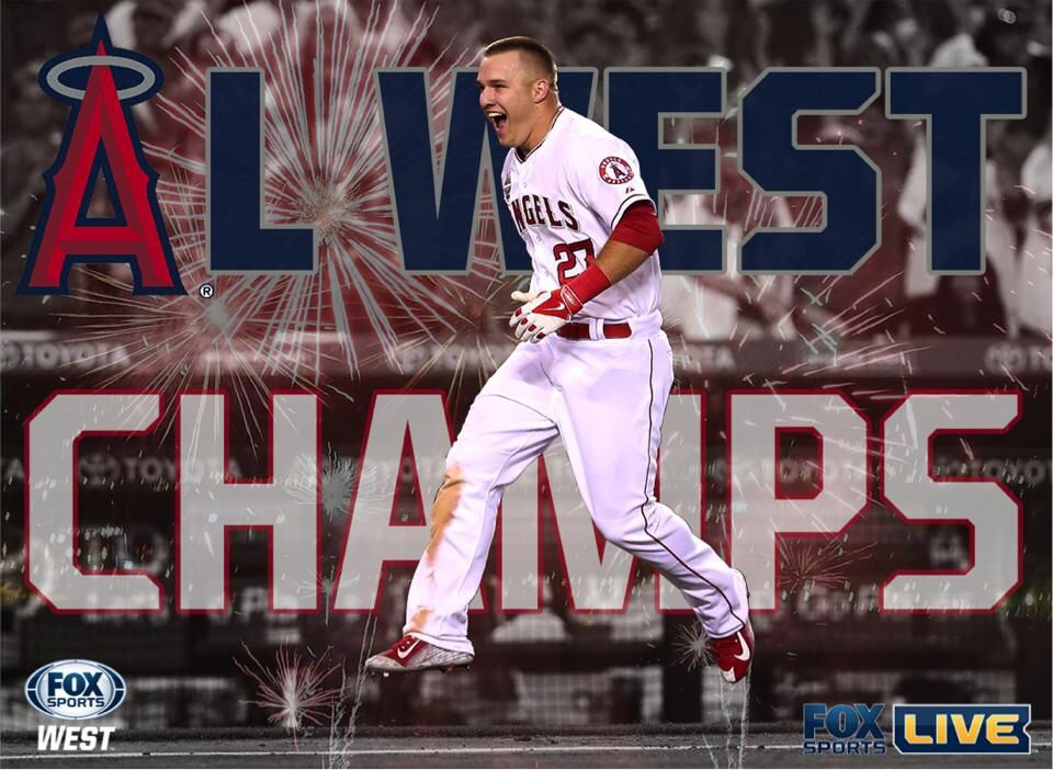 AL West Winners⚾️ (With images) Fox sports, Boxing live