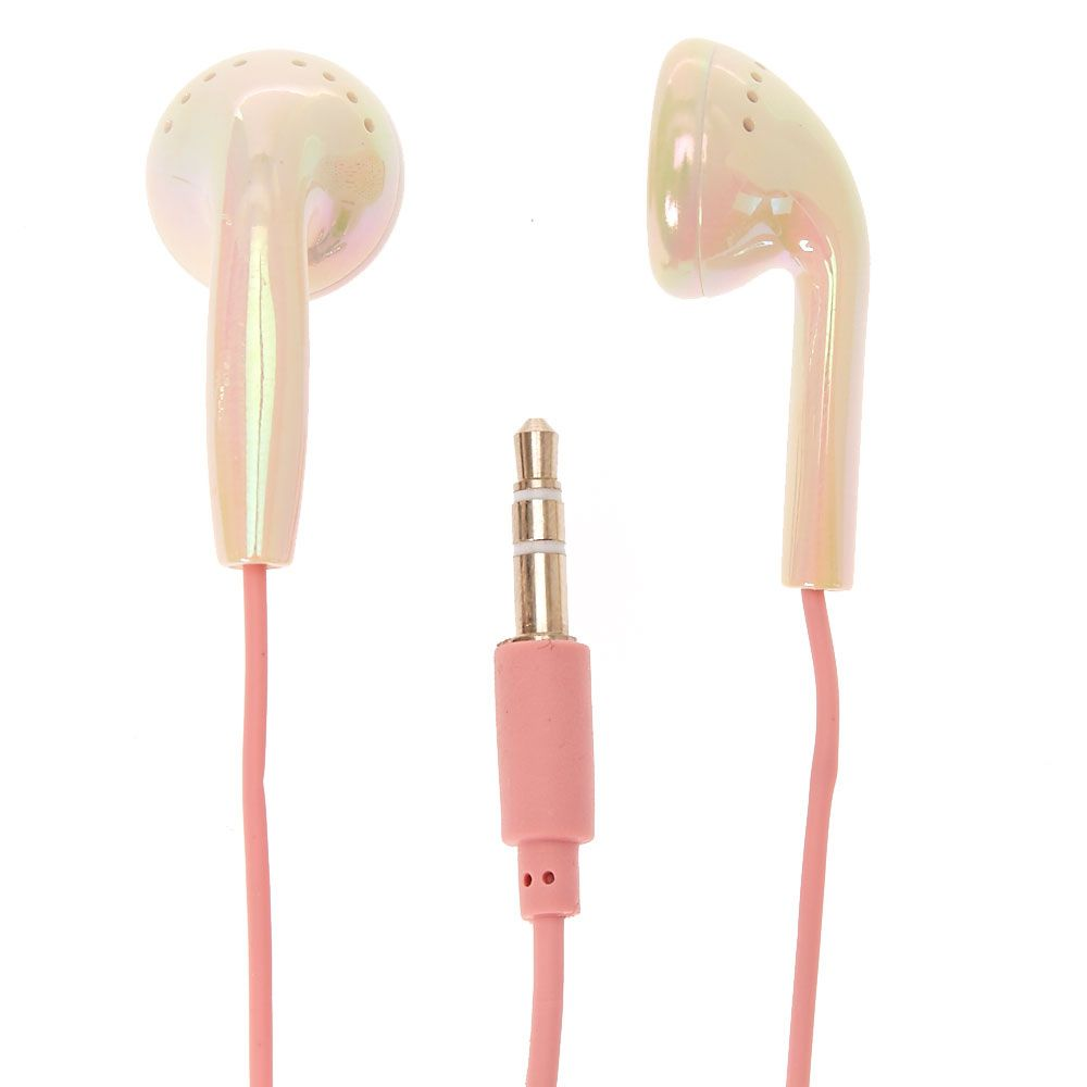 Lt P Gt Listen To Your Favourite Music In Style With Our Super Cool Shiny Pearl Holographic Earphones Lt 47 P Gt Lt Ul Gt Earbuds Cute Headphones Earphone