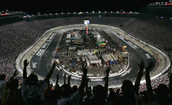 Bristol Motor Speedway, Bristol TN - Seating Chart View - We have