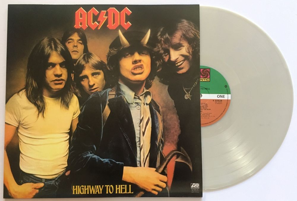 AC/DC Highway To Hell LP Grey Colour Vinyl Limited Edition