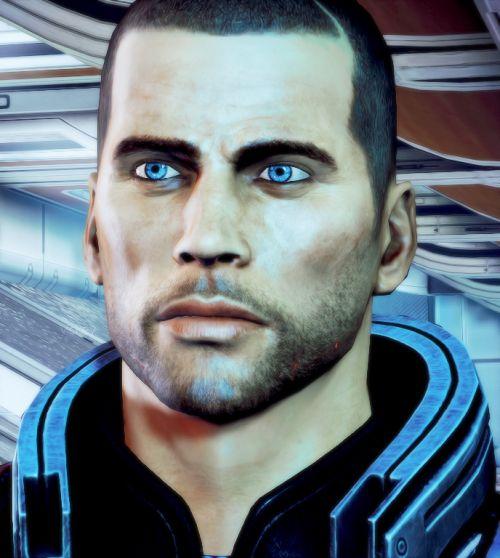 Shepard's eyes kill me