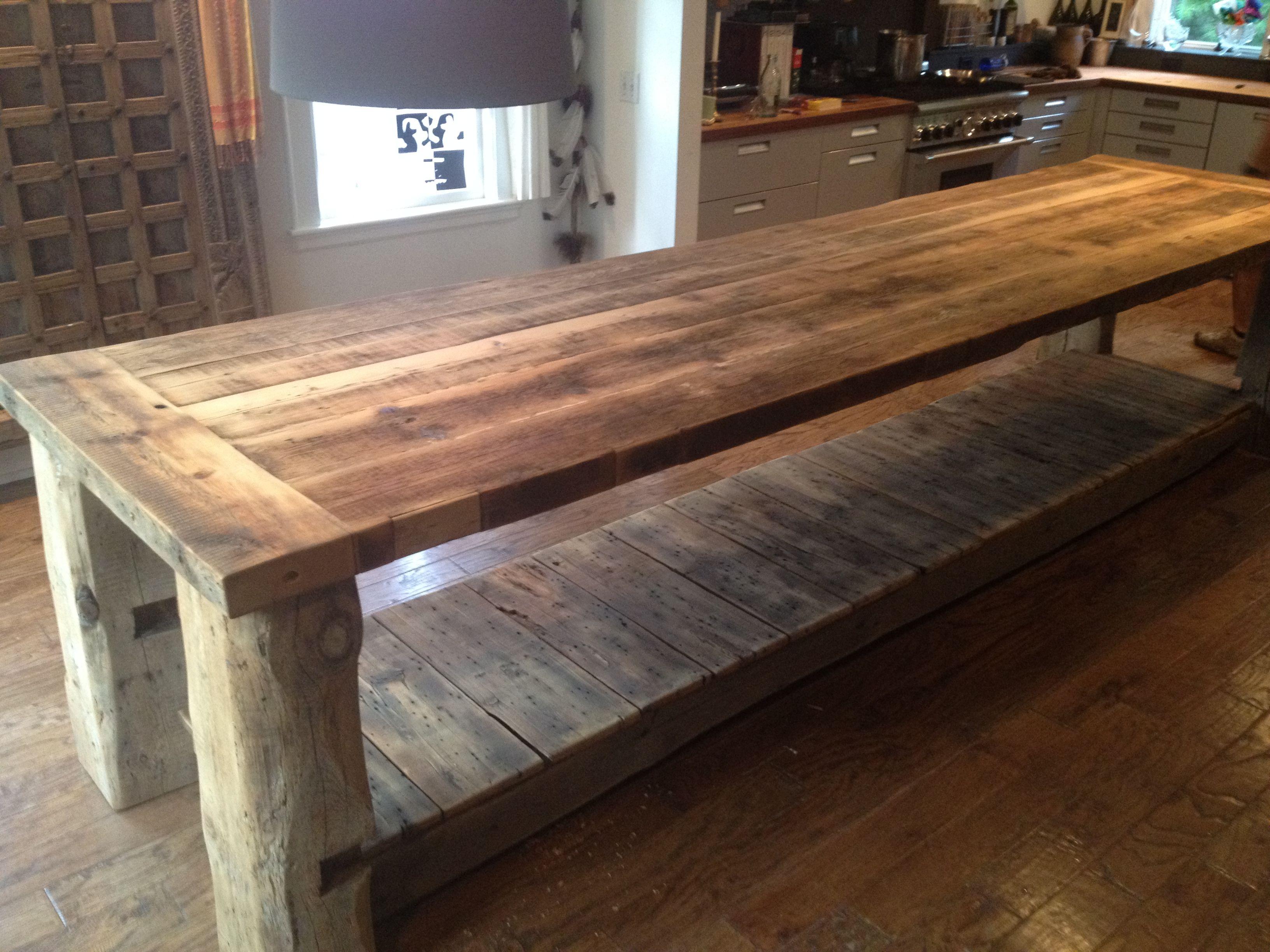 "13 6 foot long ""Viking"" style kitchen island Wellseley MA Design"