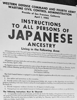 The future of the Japanese minority in the United States is no longer a domestic issue for three states of the Pacific Coast: it is the responsibility of the entire Union. Most of the West Coast Japanese are now settled in permanent relocation centers where they were moved by the Army and where they remain as wards of the nation. The American people have thus assumed the power to plan the lives of these 112,000 persons, more than half of whom are American citizens.