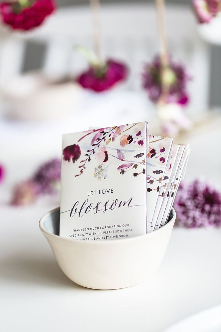 Wedding Ideas By Colour: Purple Wedding Decorations - A little gift ...