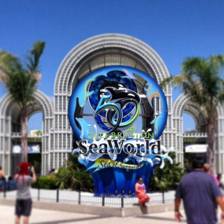 Sea World Entrance Sea World Seaworld San Antonio San