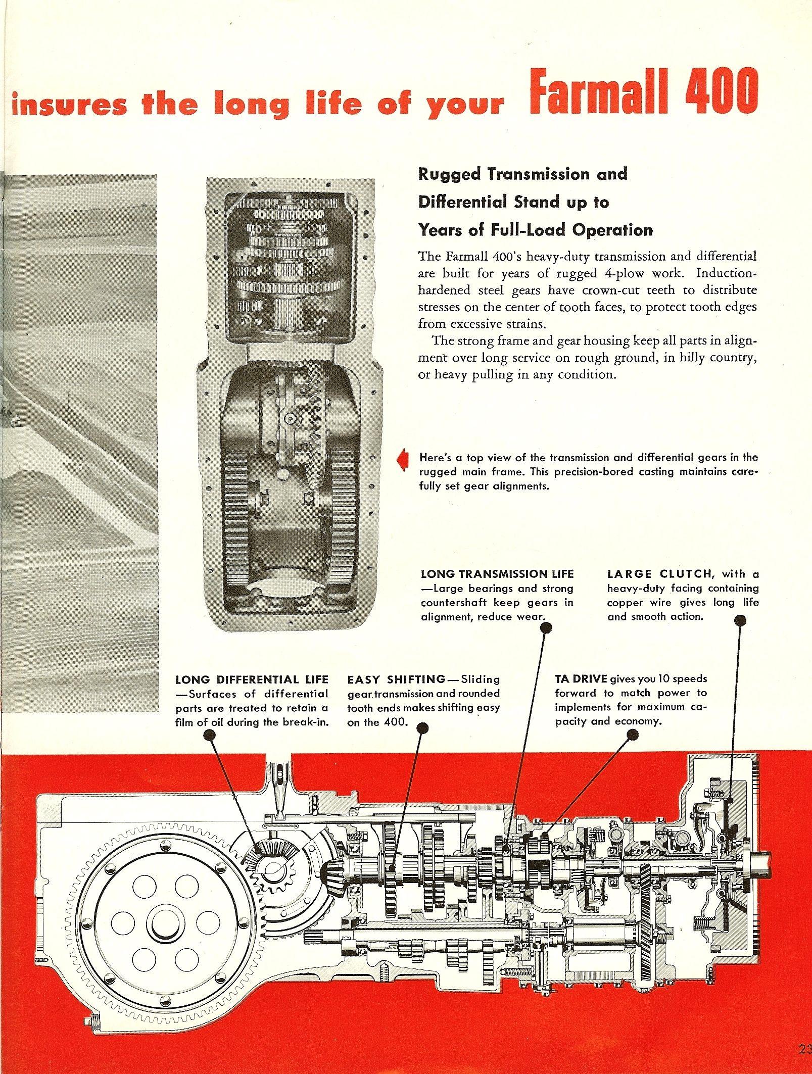 medium resolution of 1955 farmall 400