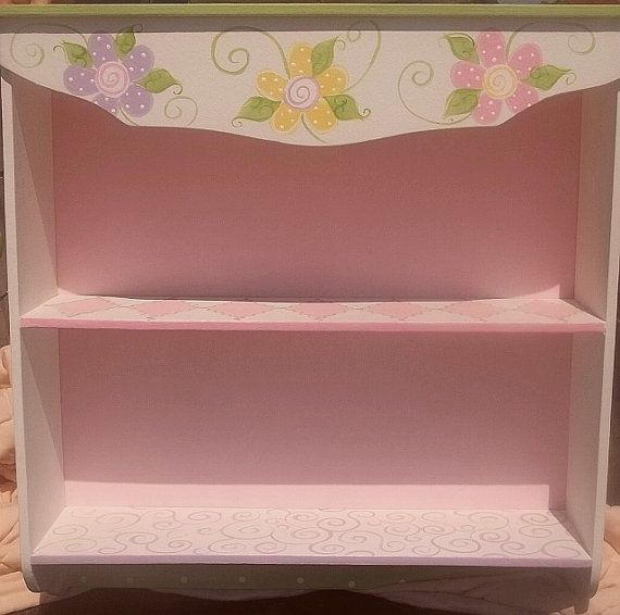 NURSERY Wall Shelf Rack for Children or SOLID by