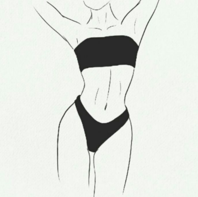 ✔ Fashion Drawing Illustration Artworks #fitness #uae #bollywood