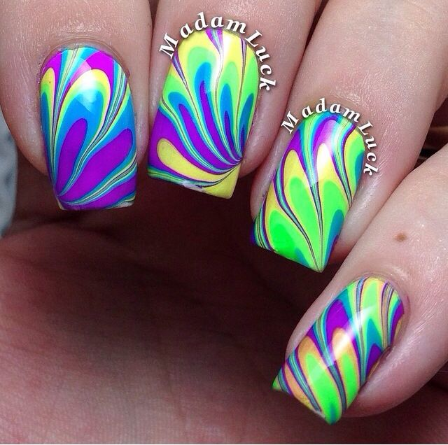 Water marble by @Madamluck