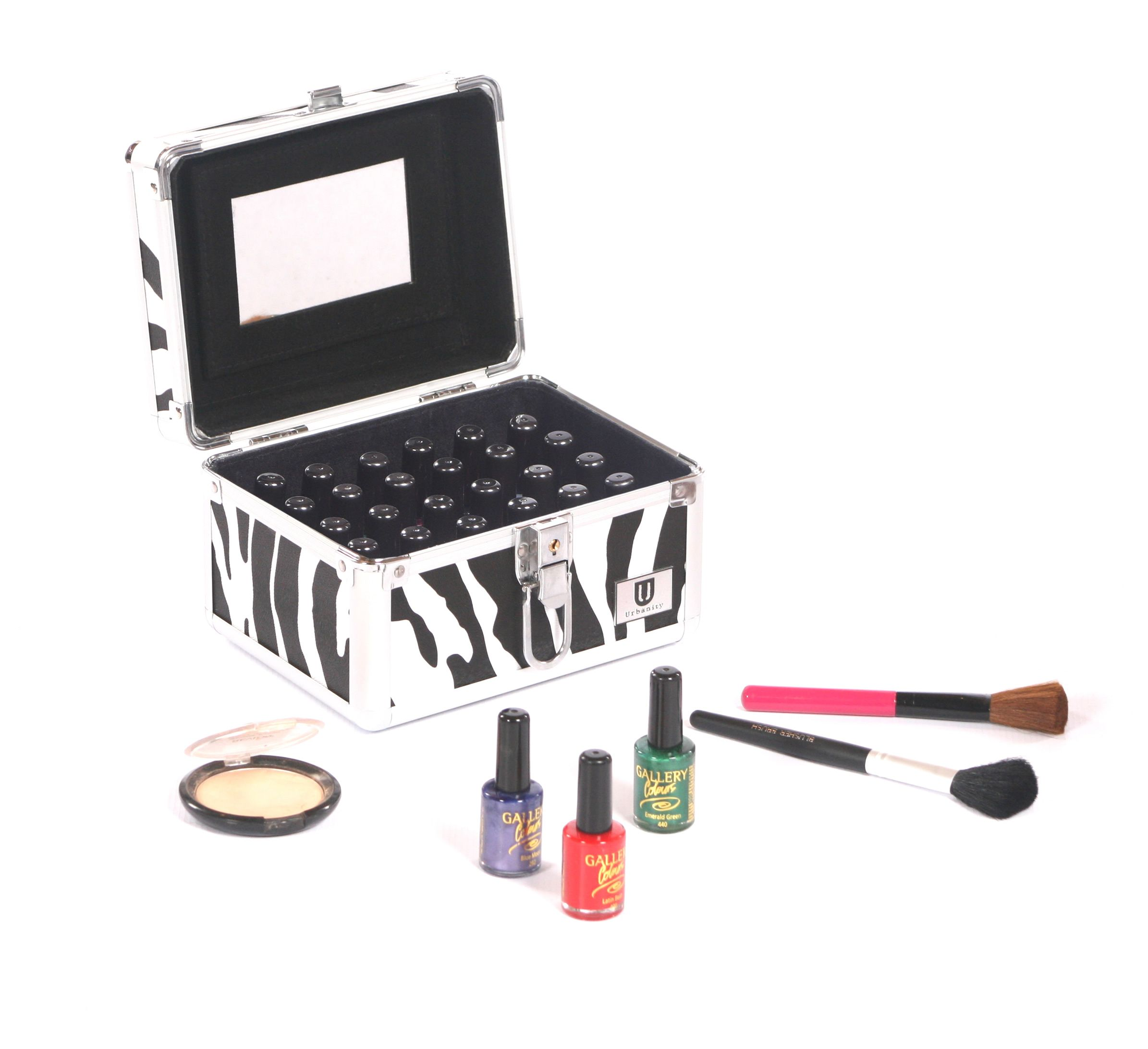 Urbanity Glamour Case - the perfect makeup box. Get yours at http://