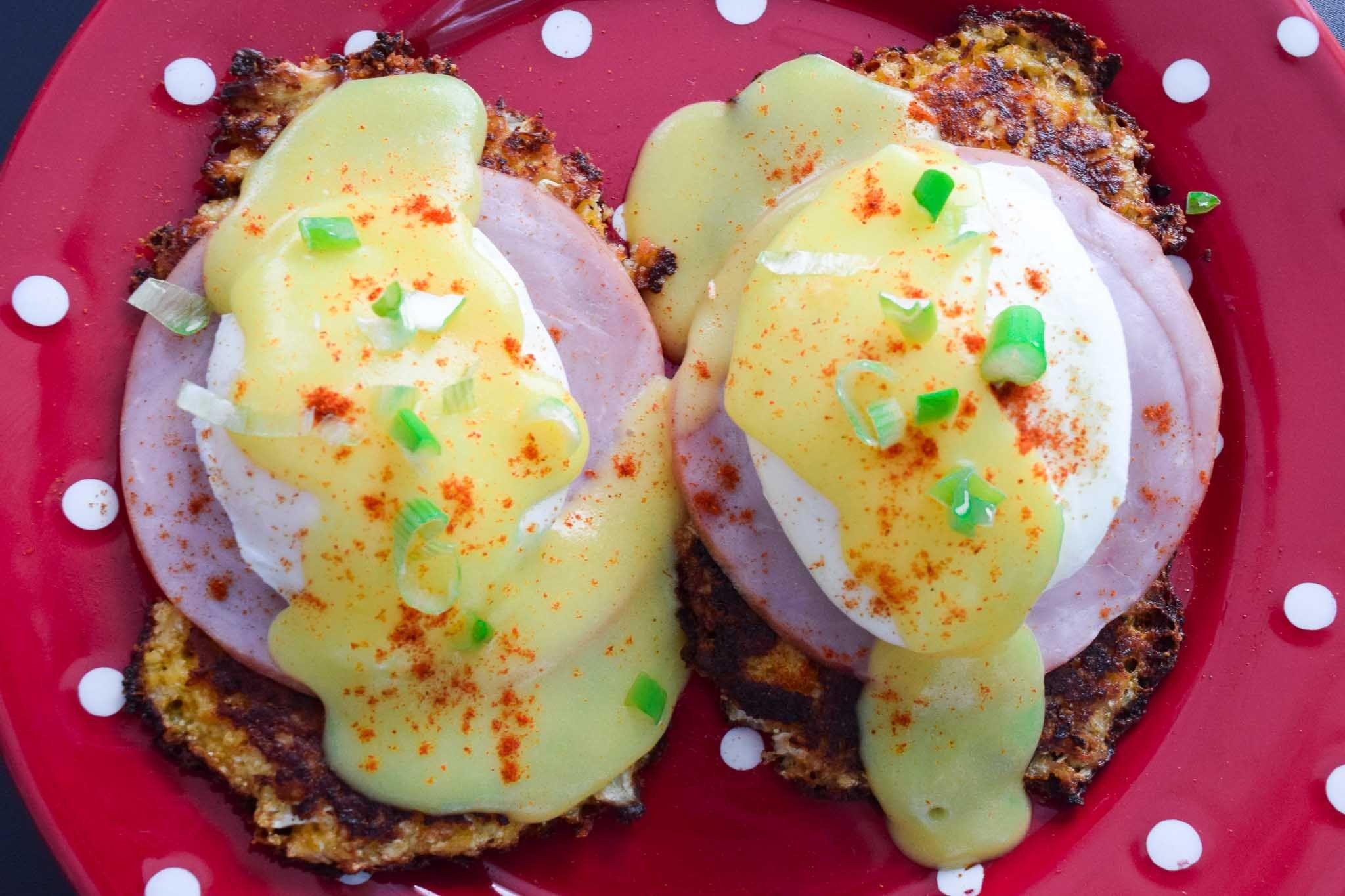 Cauliflower benedict recipe recipe for hollandaise