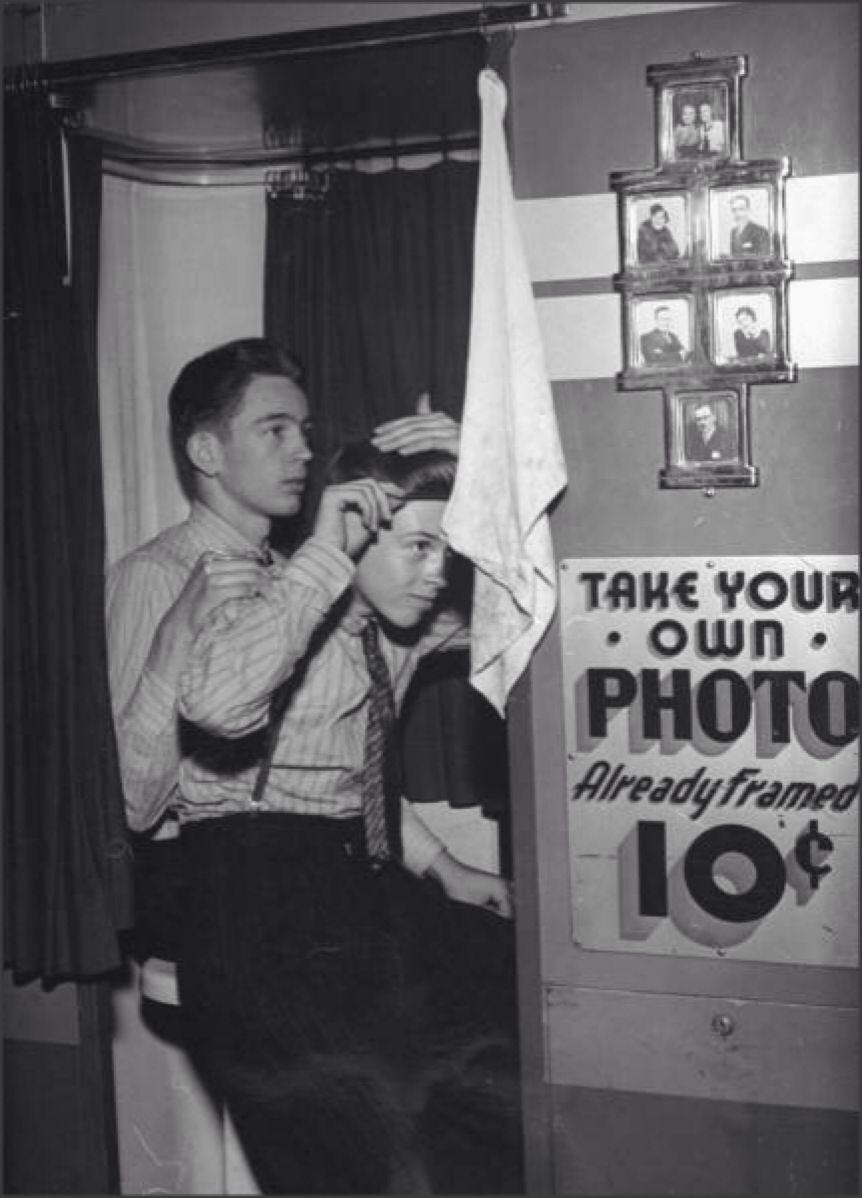 1950's. Date night.