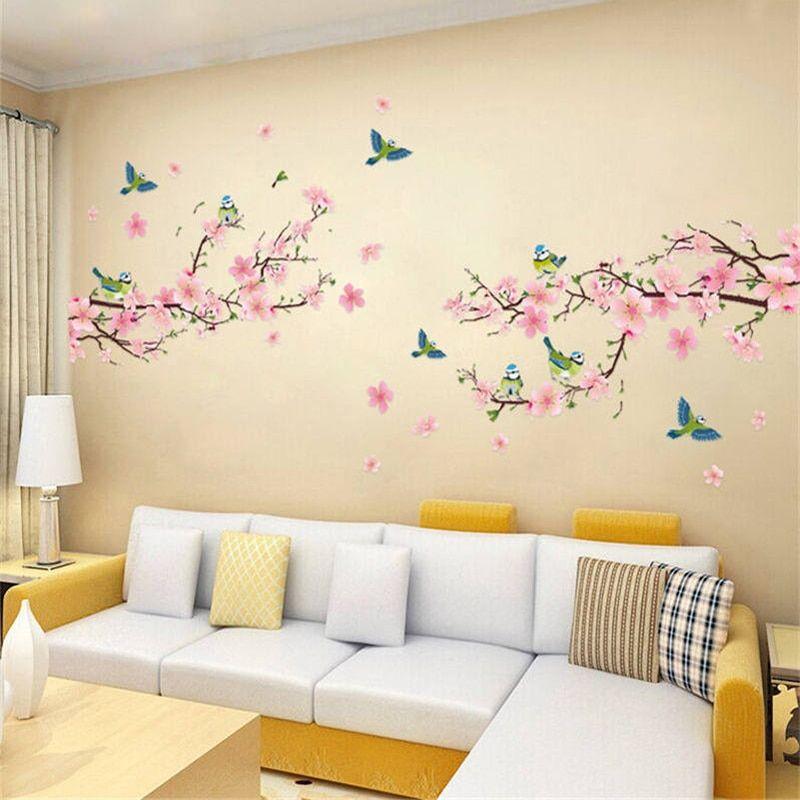 Sakura Bedroom Wall Stickers Walling Shop In 2020 Kids Room