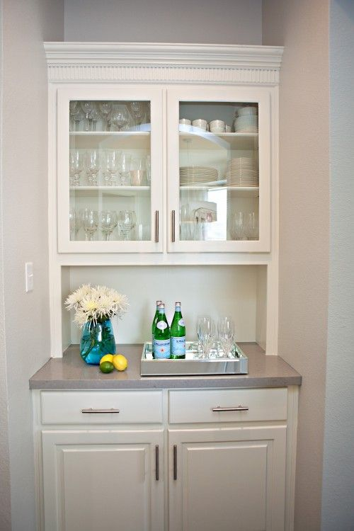 small butler pantry but add wine fridge | home: kitchen ...