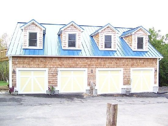 Garage with apartment above | Metal Buildings, Houses, and Tin Roofs ...