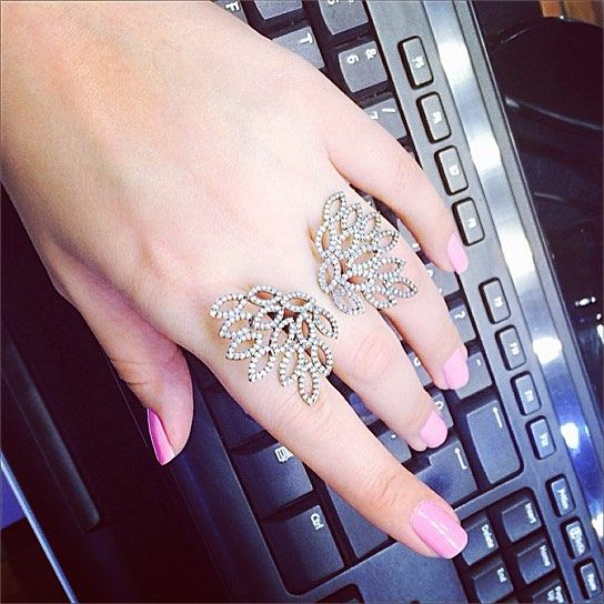 Instagram Photo Feed Hand Jewelry Full Finger Rings Fancy Rings