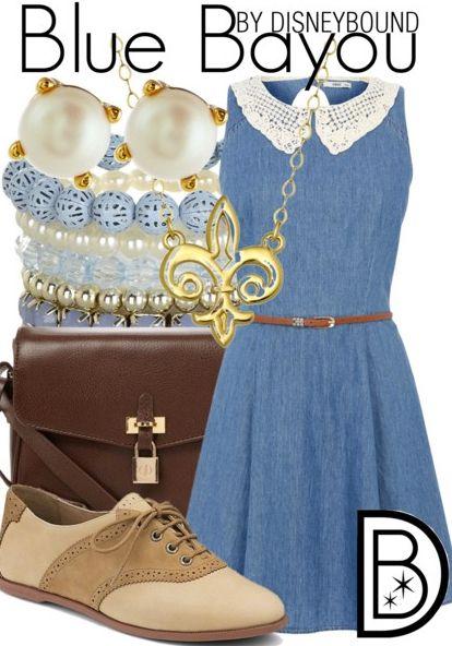 Blue Bayou by DisneyBound