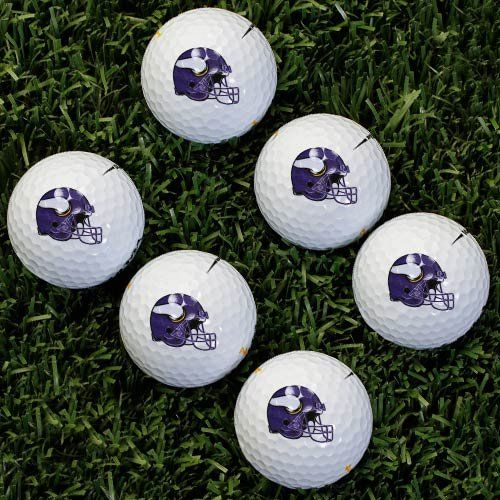 NFL Minnesota Vikings Golf Ball Pack of 6     Click image to review more  details. a05f39d8f