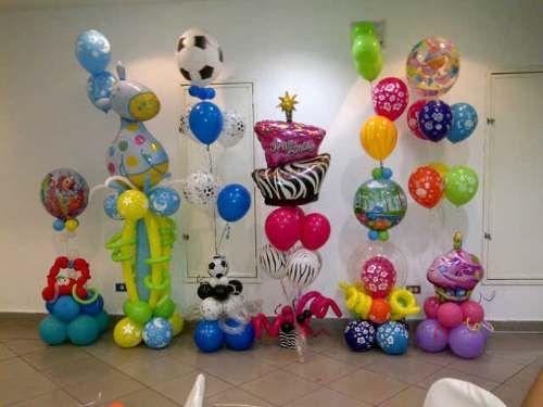 Pin re decoraciones con globos espero les agrade on - Decoraciones con globos ...