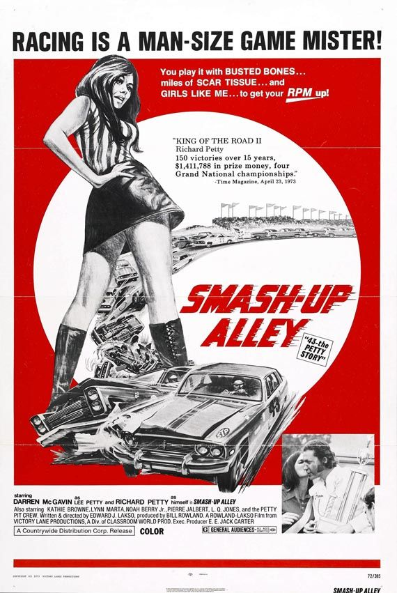 Smash-Up Alley #carsploitation #vintage #poster HOT ROD - poster für die küche