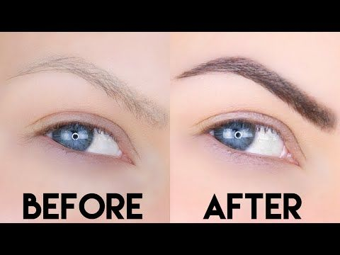 21b28f7835a She had very thin eyebrows but in just 1 week they are looking so ...