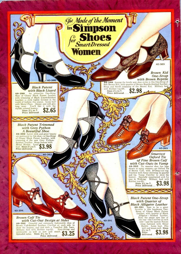 Art Deco Shoes Styles of the 1920s and 1930s in 2020 | 1920s
