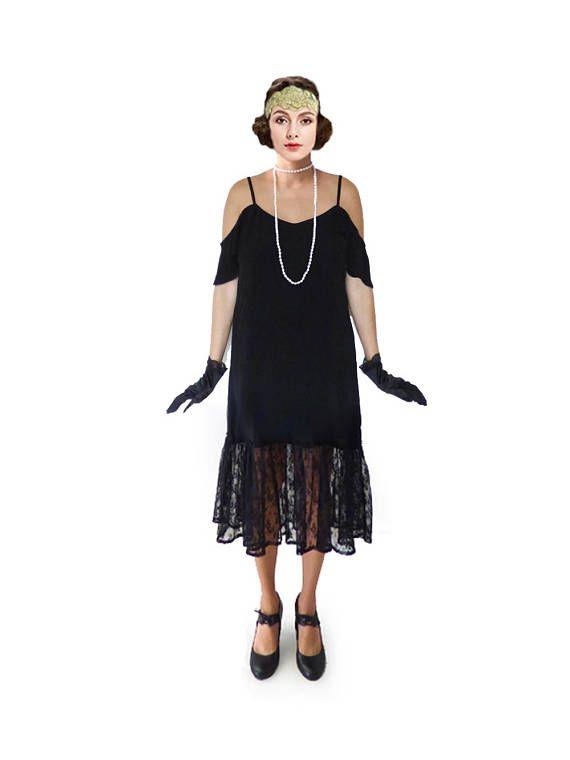 ISABEL ist eine 1920er Jahre Stil Charleston Kleid. Das Kleid ...