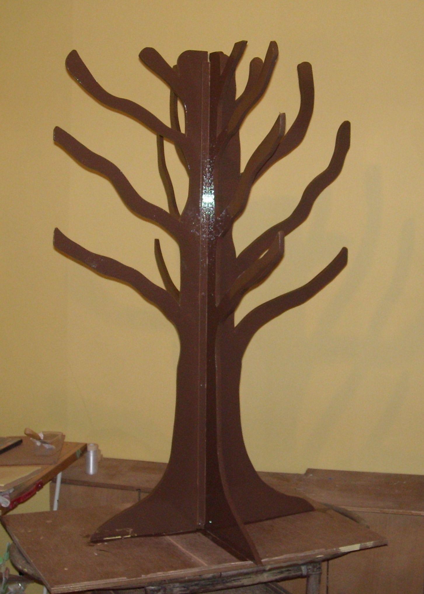 Zelfgemaakte boom herfst