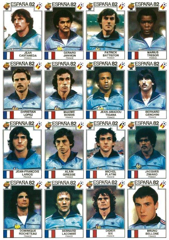 Panini foot nostalgie album coupe du monde espagna 82 cromos da bola pinterest la coupe - Coupe du monde de foot 1982 ...