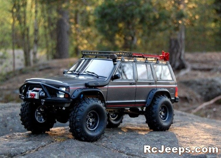 Scale Looking Jeep Cherokee Crawler 1 10 Rc Cars Rc Jeep Jeep