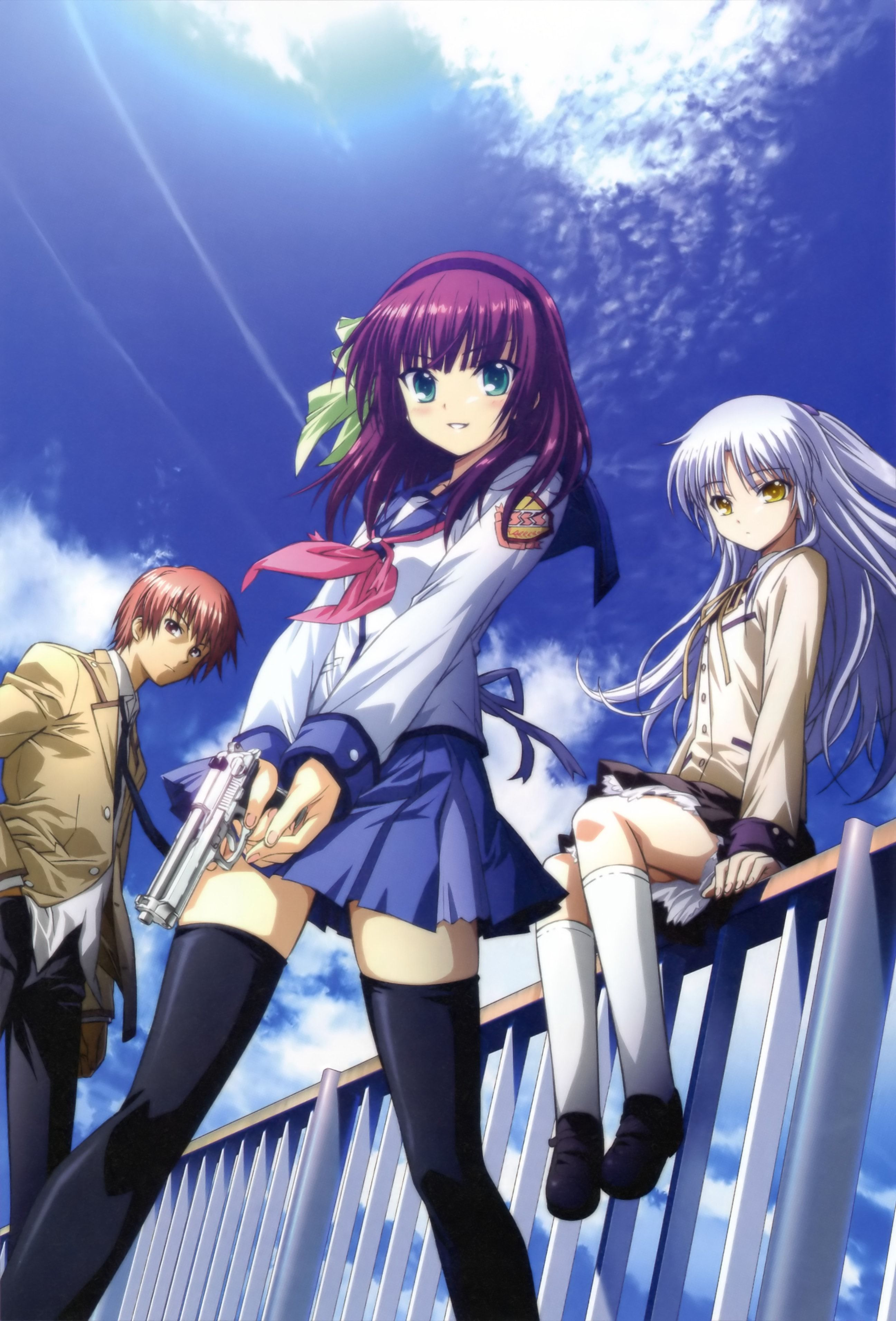 Angel Beats! Angel beats, Anime angel, Anime shows