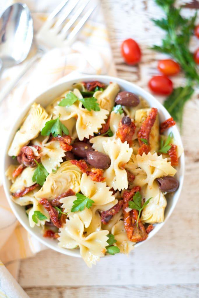 Photo of 5-Ingredient Mediterranean Pasta Salad