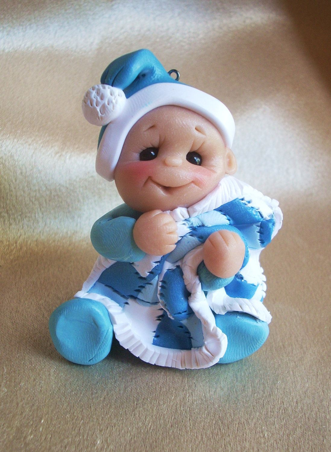 Babys First Christmas Gift Ideas Pinterest : Baby s first christmas polymer clay sculpey