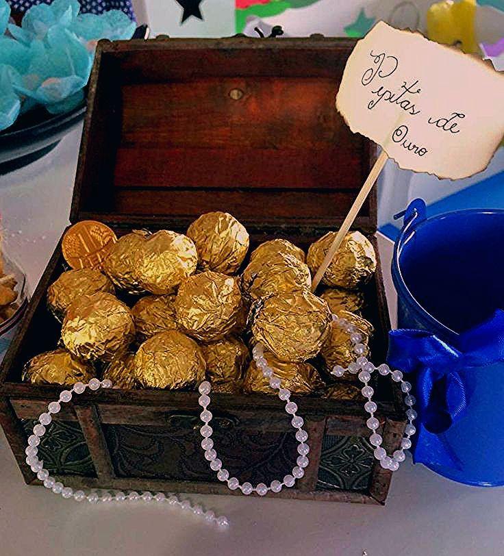 Photo of Goldene Schokoladenschätze auf einer Piratengeburtstagsfeier! Weitere Partyplanung i …